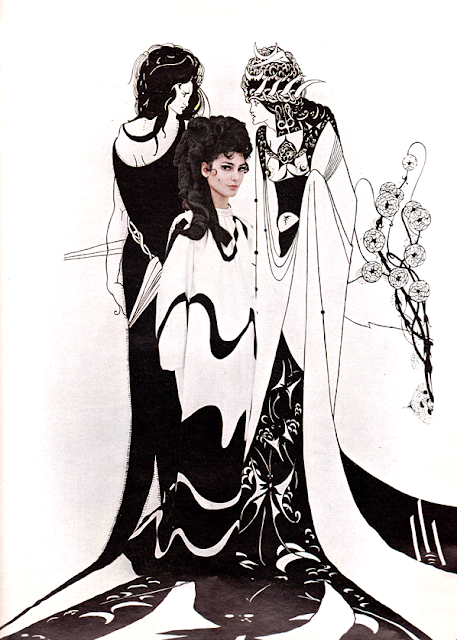 Aubrey Beardsley Fashion Donald Brooks Benedetta Barzini