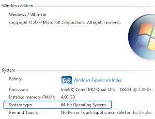windows 7 64bit