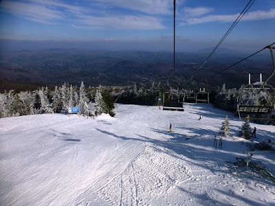 Okemo Mountain, Friday 11/24/2017.  The Saratoga Skier and Hiker, first-hand accounts of adventures in the Adirondacks and beyond, and Gore Mountain ski blog.