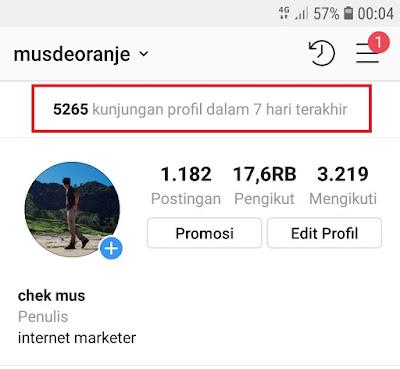 Cara Meningkatkan Kunjungan Profil Instagram
