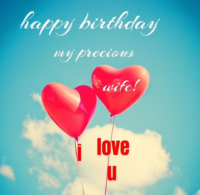 birthday wishes for wife romantic and passionate - 640×640