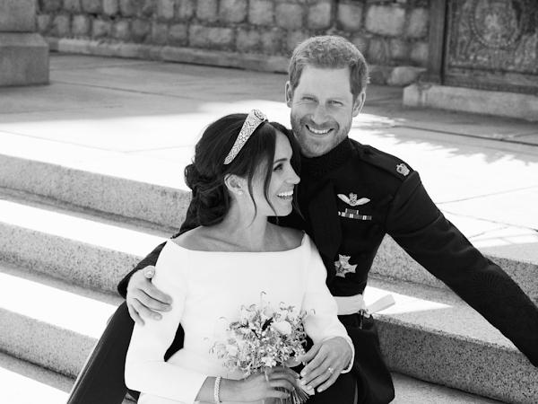 Alexi Lubomirski o sesji ślubnej księcia i księżnej Sussex.