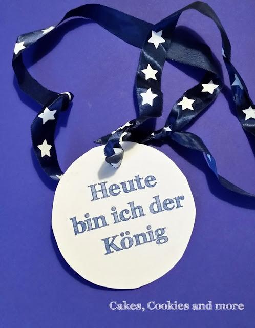 Medaille für den König