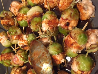 Recipe by Appetit Voyage because Brussels sprouts rock!