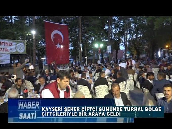 KAYSERİ ŞEKER TARAFINDAN TURHAL'DA