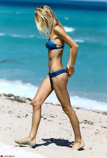 Brianna Addolorato in  Blue Bikini Tall Slim  Busty Babe Brianna Addolorato wet  Lovely Body
