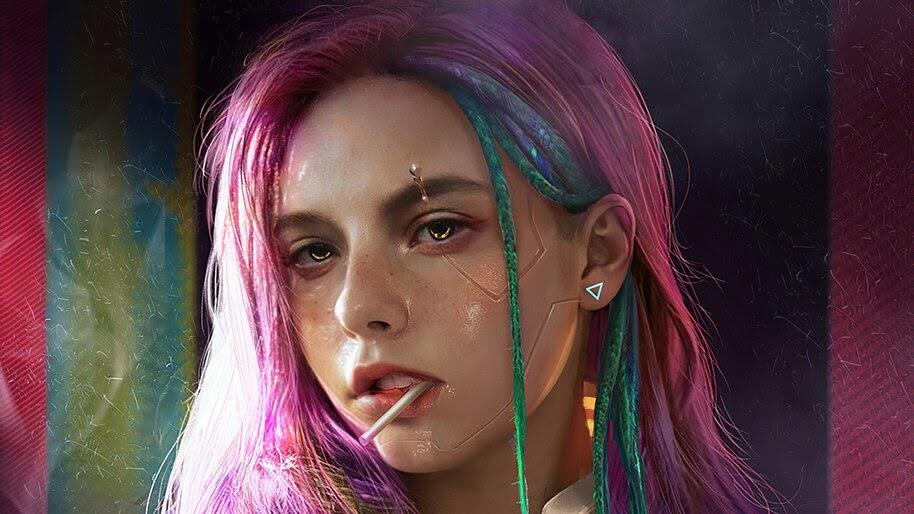Cyberpunk, Girl, 4K, #4.3090
