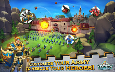 Lords Mobile Mod Apk+Data v1.69 for Android