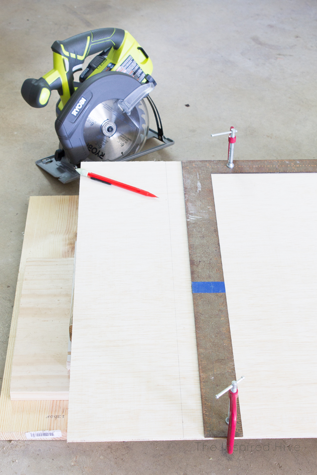 How to cut shiplap
