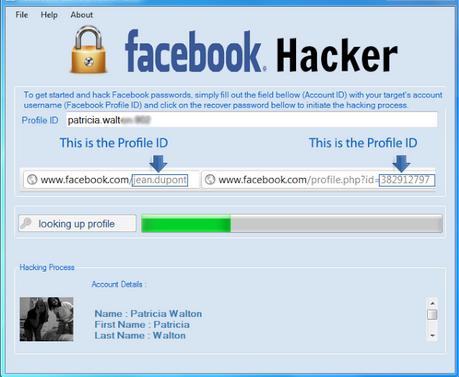 Passwort Facebook Hacken