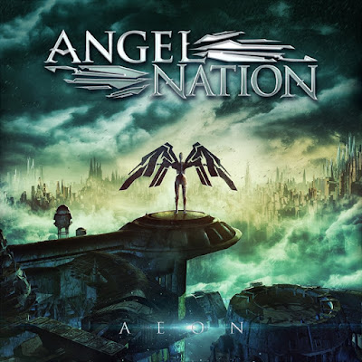 "Angel Nation - ""Breathe Again"" (lyric video) from the album ""Aeon"""