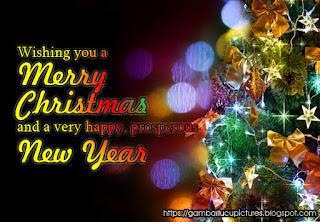 Kartu Ucapan Natal dan Tahun Baru 2017 Paling Indah dan Keren