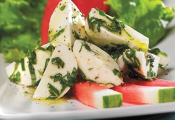 bocconcini and watermelon recipe