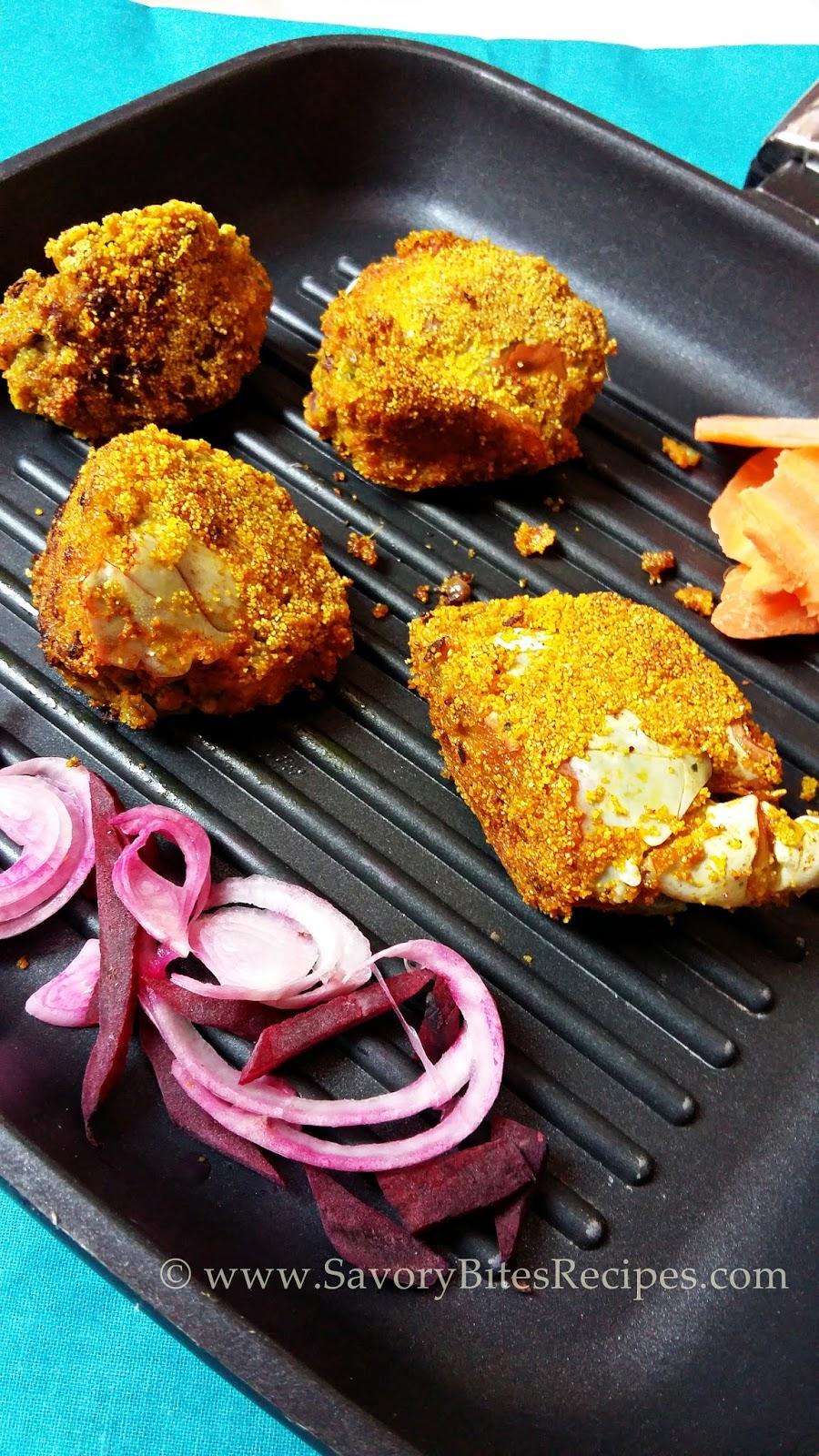 Stuffed Crabs Goan Seafood Starter
