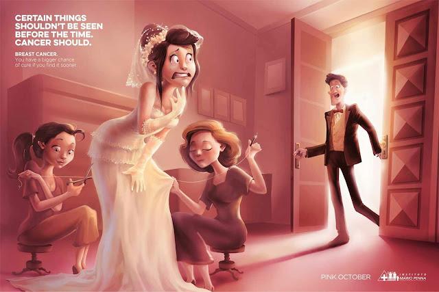 Campaña de publicidad en contra del Cáncer de mama
