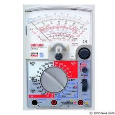 Jual Multimeter Sanwa Cx506a Harga Murah