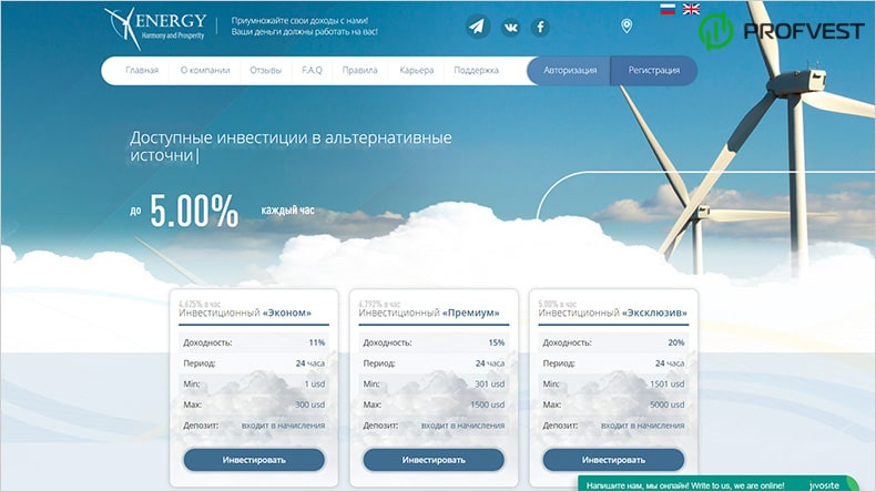 Energy Group обзор и отзывы HYIP-проекта