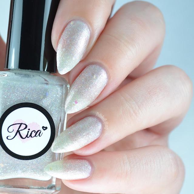 iridescent glitter nail polish