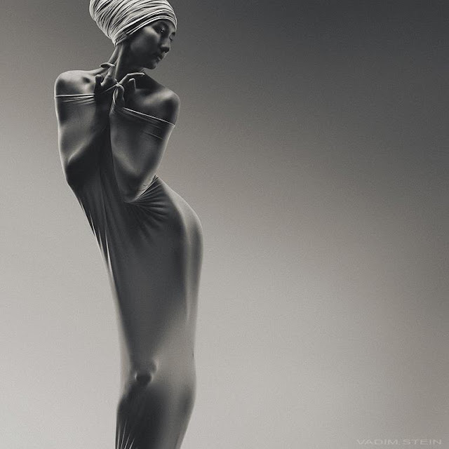 Black and White Fashion Photography By Vadim Stein, 1967