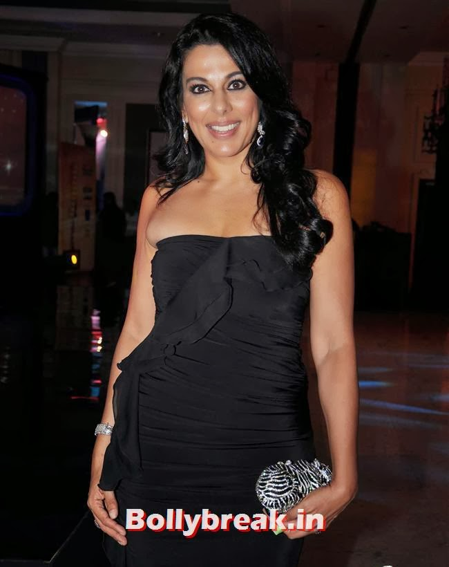 Pooja Bedi, Times Now Foodie Awards 2014