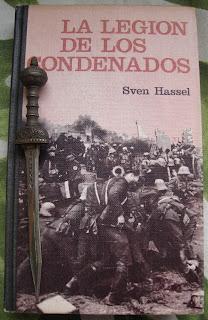 Portada del libro La legión de los condenados, de Sven Hassel