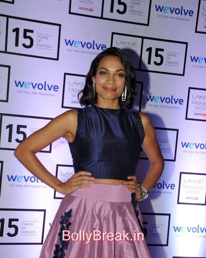 Celebs at Manish Malhotra's show at LFW, Sridevi, Kajol, Deepika, Neha at Manish Malhotra's show at LFW 2015