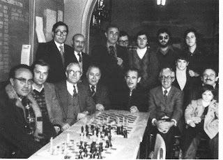Ajedrecistas participantes en el Campeonato de Cataluña de 1978 del Club Ajedrez Manresa
