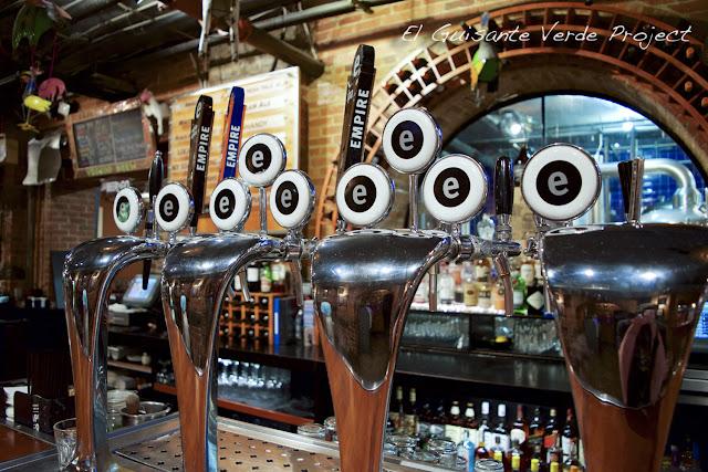 Empire Brewing Company por El Guisante Verde Project - Syracuse, New York
