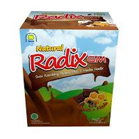 Radix GM Rasa Coklat
