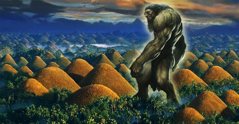 Legend of Chocolate Hills in Philippines