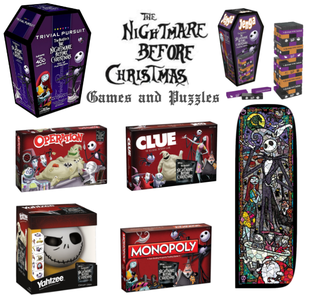 the nightmare before christmas board games and puzzles - Nightmare Before Christmas Board Game
