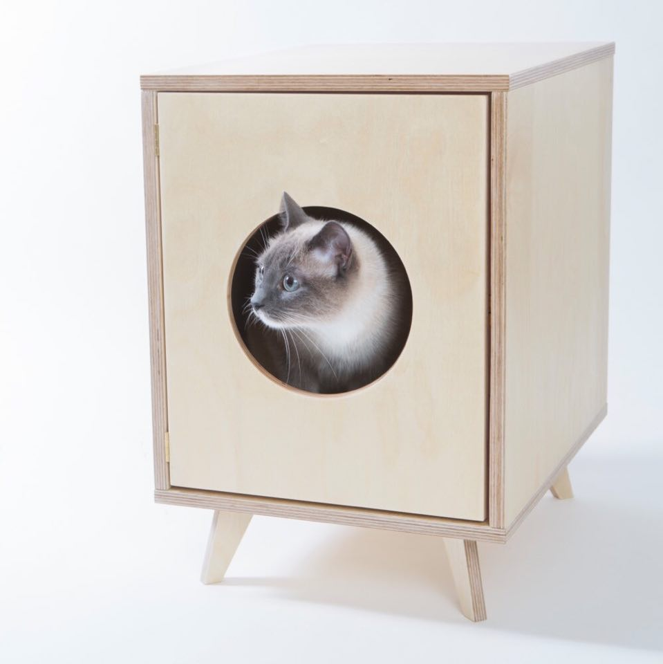 litiere chat luxe