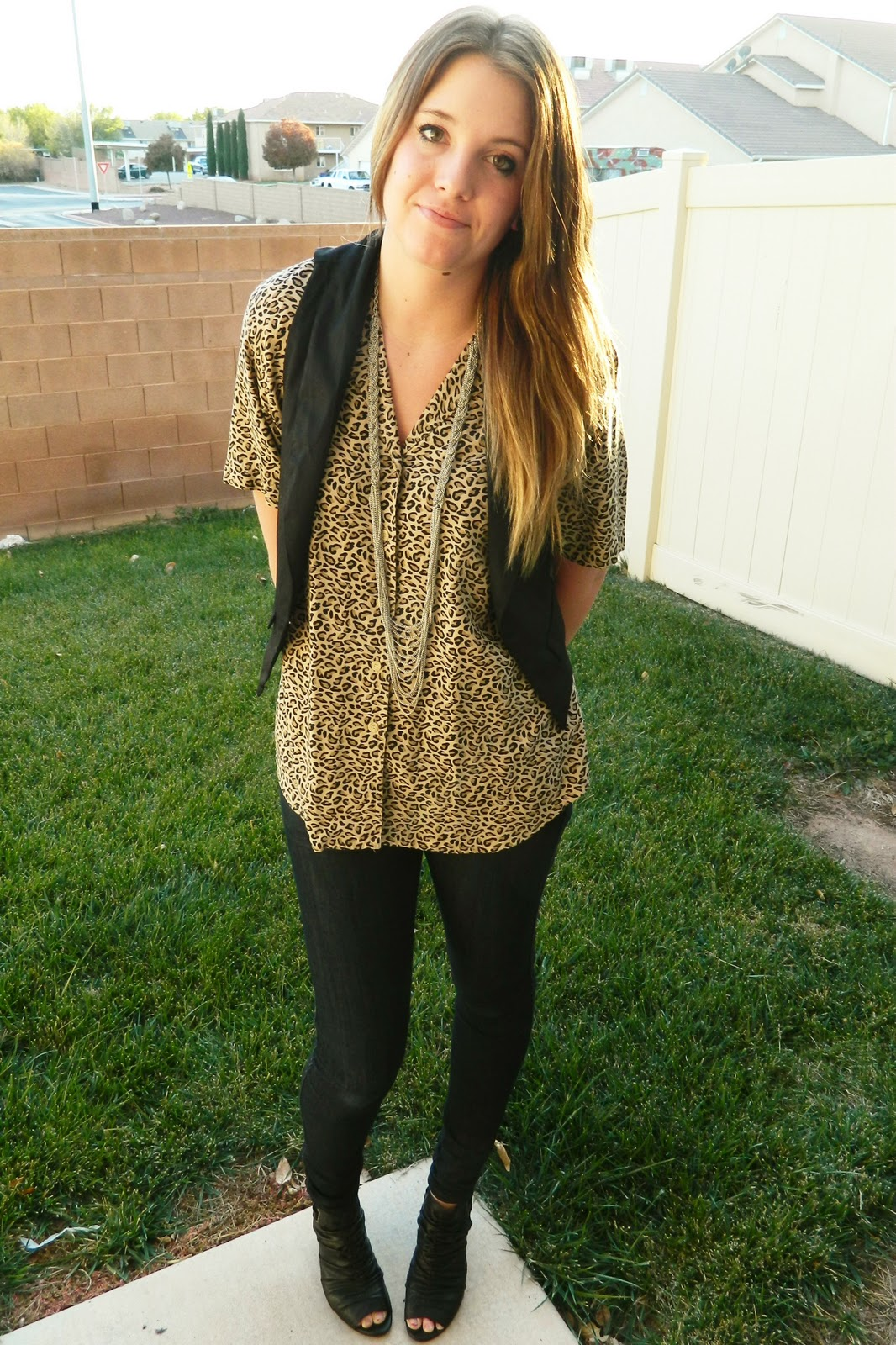 Leopard Print, Thrift Shopping, Fashion Blogger