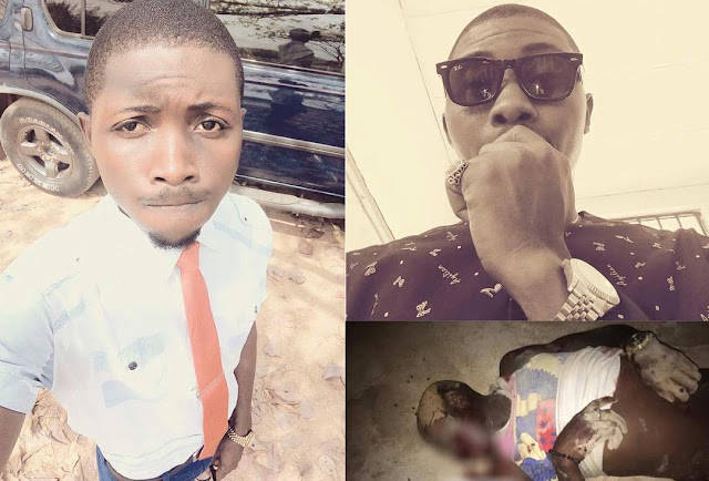 Theo, a fresh graduate of the Ebonyi State University, shot dead, on Saturday, by suspected cultists at P3 bar Ishieke, Abakaliki