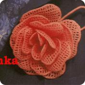 Rosa a Crochet