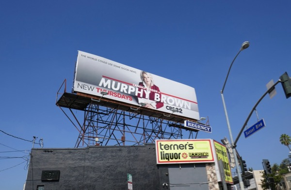 Murphy Brown season 11 billboard