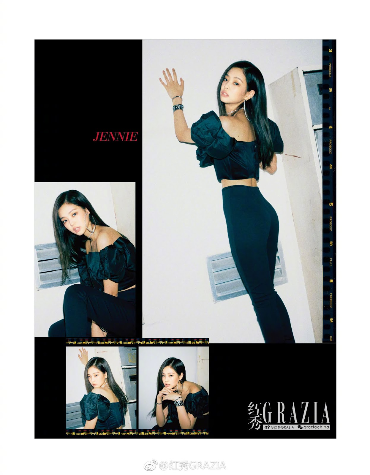 BLACKPINK for GRAZIA China Magazine