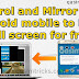 How to mirror Android mobile screen to PC in full screen for free