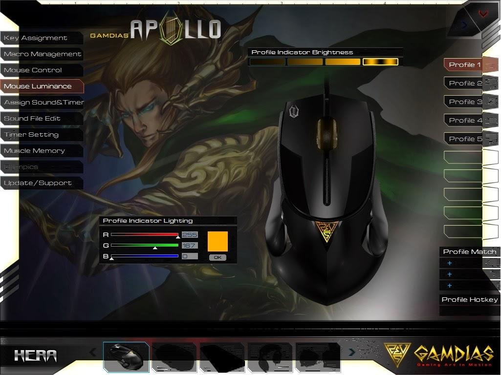 Gamdias Apollo Extension Optical Gaming Mouse 71