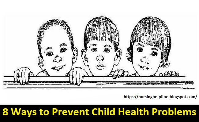 Childhood health problems prevention