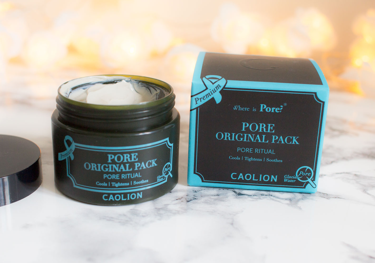 Caolion Premium Original Pore Pack Review Peach & Lily