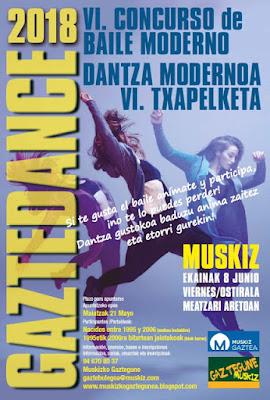 VI Concurso Gazte Dance