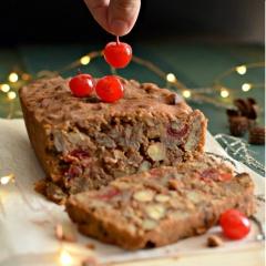 Receta para preparar torta fácil de frutos secos y licor