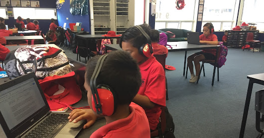 Earmuffs? Do you mean our... 'focussed writing time'?