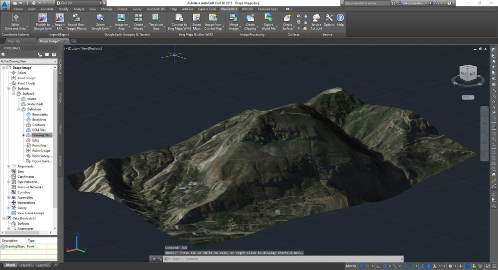 Free download Plex Earth Tools For AutoCAD (64-bit) for