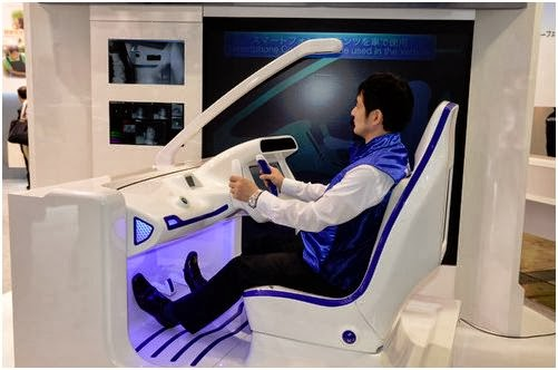 The Japanese manufacturer Alps Electric presented on Ceatec a cockpit and dashboard equipped with sensors. A facial recognition system allows the driver to start the vehicle and a set of sensors perform multiple checks before and during the trip.