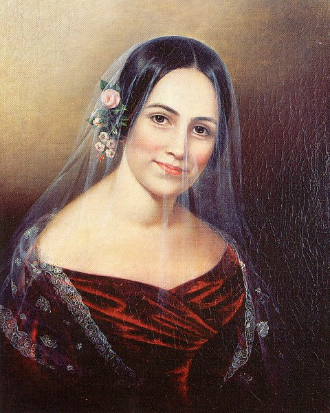 Veil of Mystery 1830, Sarah Miriam Peale