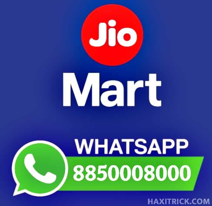 Reliance Jio Mart WhatsApp Number