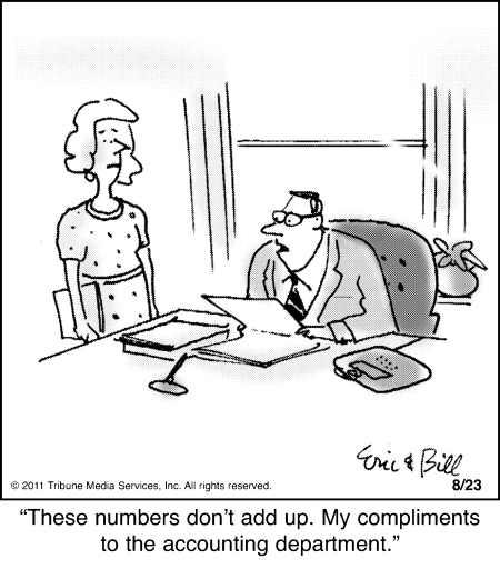 Accounting Equation Cartoon