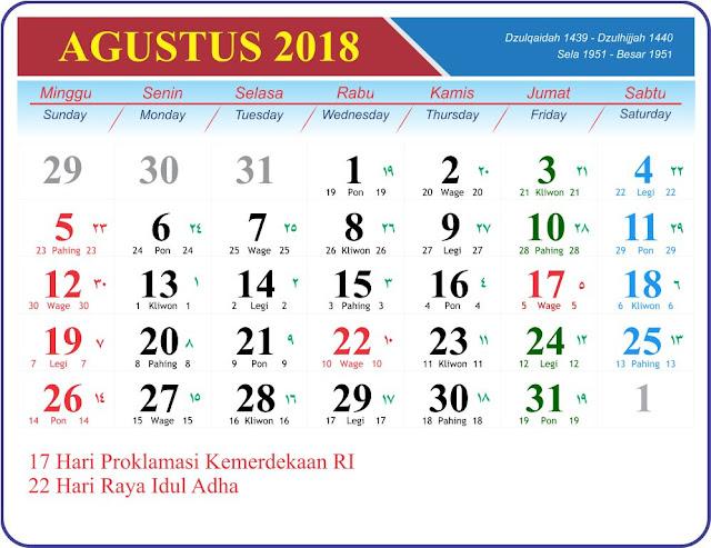 Agustus 2018